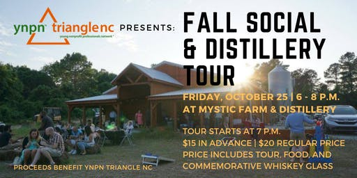 Fall Social and Distillery Tour
