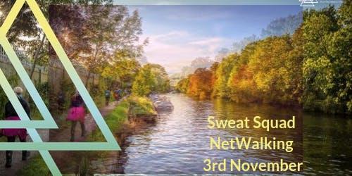 Ush Push - Sweat Squad NetWalking - Thames Path 3rd November