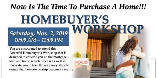 FREE Homebuyer's Workshop with Dominique Dewel and Darin Hungerford