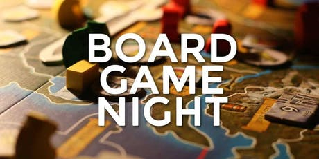 Open English Board Game Night billets