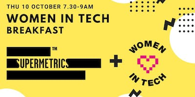 Supermetrics + Women in Tech Breakfast