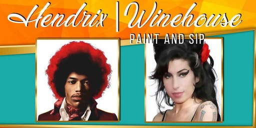 Hendrix & Winehouse 27 Club Paint Party