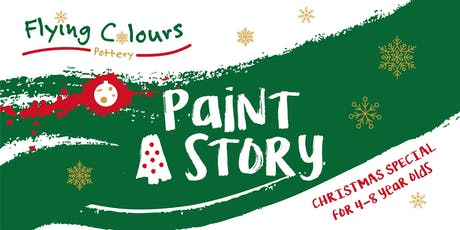 'Paint A Story' - Christmas Special for 4-8 year olds tickets