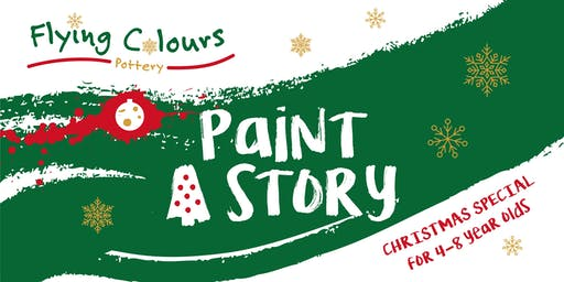 'Paint A Story' - Christmas Special for 4-8 year olds