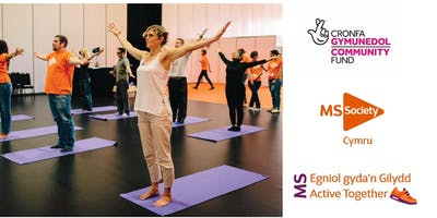 MS Society Cymru, Active Together Project - Health and Well-Being Day