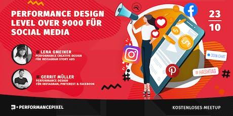 Performance Design für  Social Media / Kostenloses Meetup Tickets