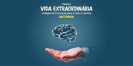 Workshop Vida Extraordinária - Inteligência Emocional para Vida e Carreira ingressos