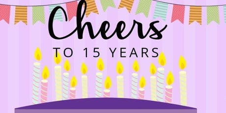Cheers to Fifteen Years tickets