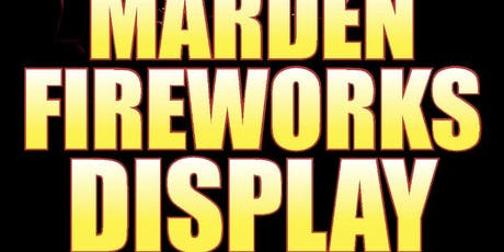 Marden fireworks Display tickets