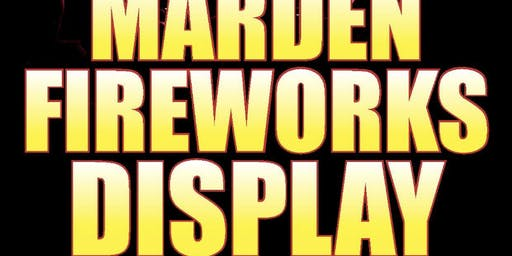 Marden fireworks Display