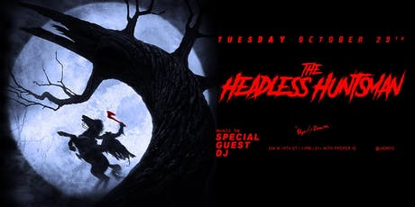 The Headless Huntsman at Up & Down Halloween 10/29 tickets