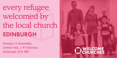 Every refugee welcomed by the local church: EDINBURGH
