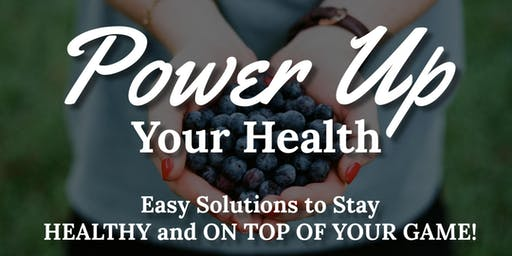 Power Up Your Health - with Valerie Miles, M.D.