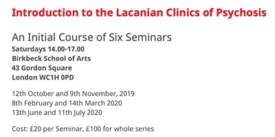 Introduction to the Lacanian Clinic of Psychosis