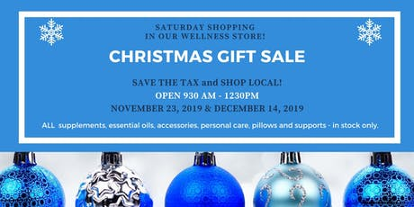 Shop Local and Save the Tax Saturdays! tickets