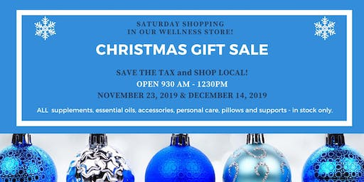Shop Local and Save the Tax Saturdays!
