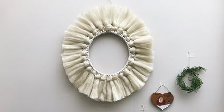Macrame Christmas Wreath tickets