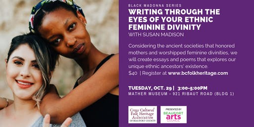 Writing Through the Eyes of Your Ethnic Feminine Divinity
