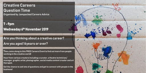 Creative Careers - Question Time