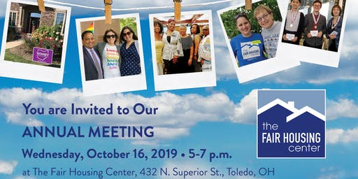 The Fair Housing Center Annual Meeting