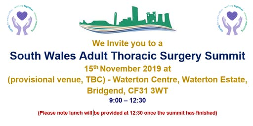 South Wales Adult Thoracic Surgery Summit