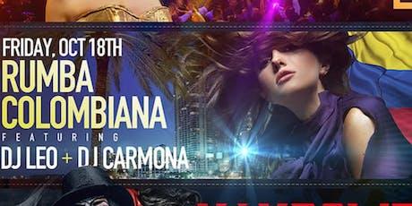 Rumba Colombiana - Mambo Fridays tickets