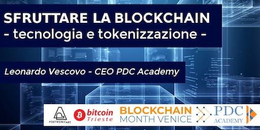 SFRUTTARE LA BLOCKCHAIN - tecnologia e tokenizzazione