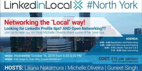 LinkedIn Learning & Networking the Local Way! (Light dinner included) tickets