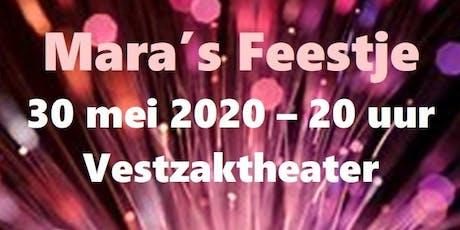 Mara's Feestje tickets
