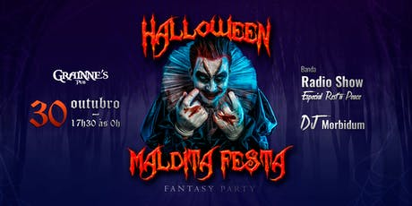 Halloween - Maldita Festa no Grainne's PUB ingressos