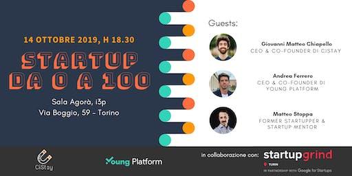 Startup da 0 a100: come partire, crescere ed imporsi sul mercato