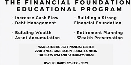FREE Financial Planning Workshops tickets