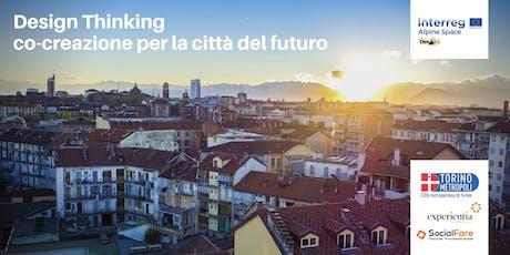 Design Thinking: co-creazione per la città del futuro biglietti