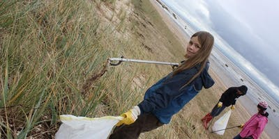 Plastics Clean up at Titchwell beach