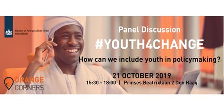 #Youth4Change: Youth inclusion in policymaking and execution tickets