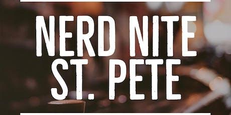 Nerd Nite St. Petersburg tickets