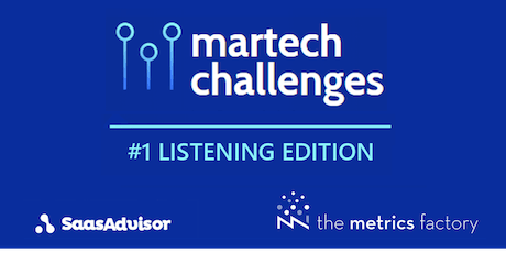 Wake up your audience #6 - Resultats Martech Challenge Listening billets