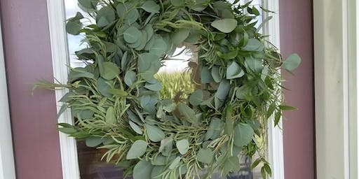 DIY Eucalyptus Wreath and Essential Oil workshop