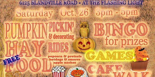 Trinity Fall Festival & Trunk or Treat