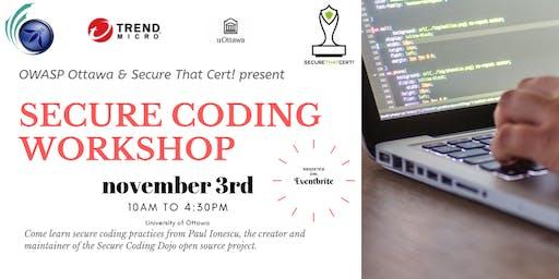 Secure Coding Workshop for Developers
