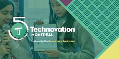 Technovation Montréal : Soirée bénéfice  - 5e Anniversaire ! billets