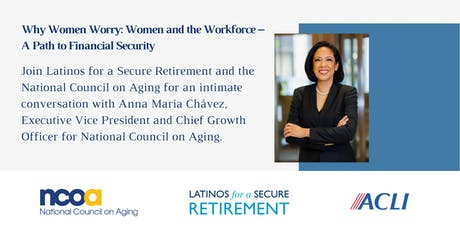 Why Women Worry: Women and the Workforce- A Path to Financial Security tickets