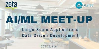 Large Scale AI-ML Applications/ Data Driven Development