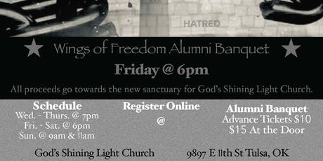 Wings of Freedom Alumni Banquet tickets