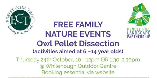FREE FAMILY NATURE EVENTS - Owl Pellet Dissection