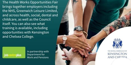 London Health and Care Work Job Fair tickets