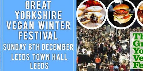 Great Yorkshire Vegan Winter Festival tickets