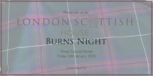 Burns Night Supper Tickets, Fri 24 Jan 2020 at 19:00
