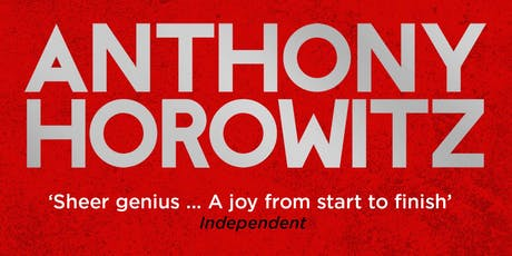 Anthony Horowitz - An evening to celebrate The Sentence is Death tickets