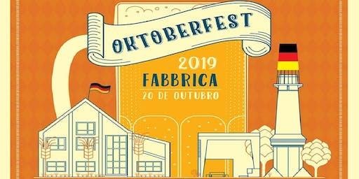Oktoberfest Fabbrica 2019 -  O Ingresso Vale uma Caneca Cheia de Chopp!
